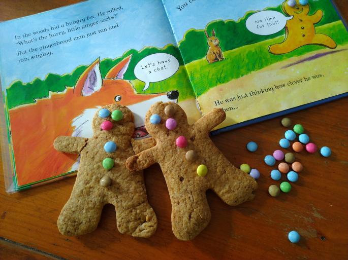 Atelier d'anglais Cuisine & Conte d'hiver : The Gingerbread Man