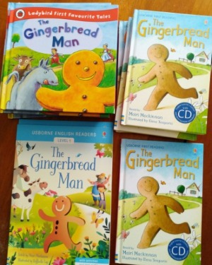 The Gingerbread Man Books