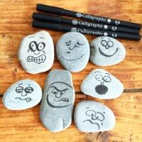Moods on pebbles