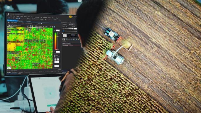 Tracking de machines agricoles
